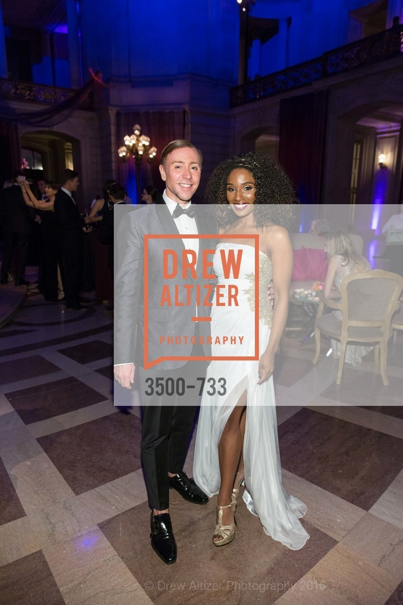 Mark Rhoades, Pernella Sommerville, San Francisco Ballet 2016 Opening Night Gala, San Francisco City Hall. 1 Dr Carlton B Goodlett Pl, January 21st, 2016,Drew Altizer, Drew Altizer Photography, full-service agency, private events, San Francisco photographer, photographer california