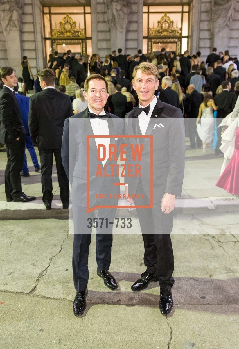 Trent Norris, Jack Calhoun, San Francisco Ballet 2016 Opening Night Gala, San Francisco City Hall. 1 Dr Carlton B Goodlett Pl, January 21st, 2016,Drew Altizer, Drew Altizer Photography, full-service agency, private events, San Francisco photographer, photographer california