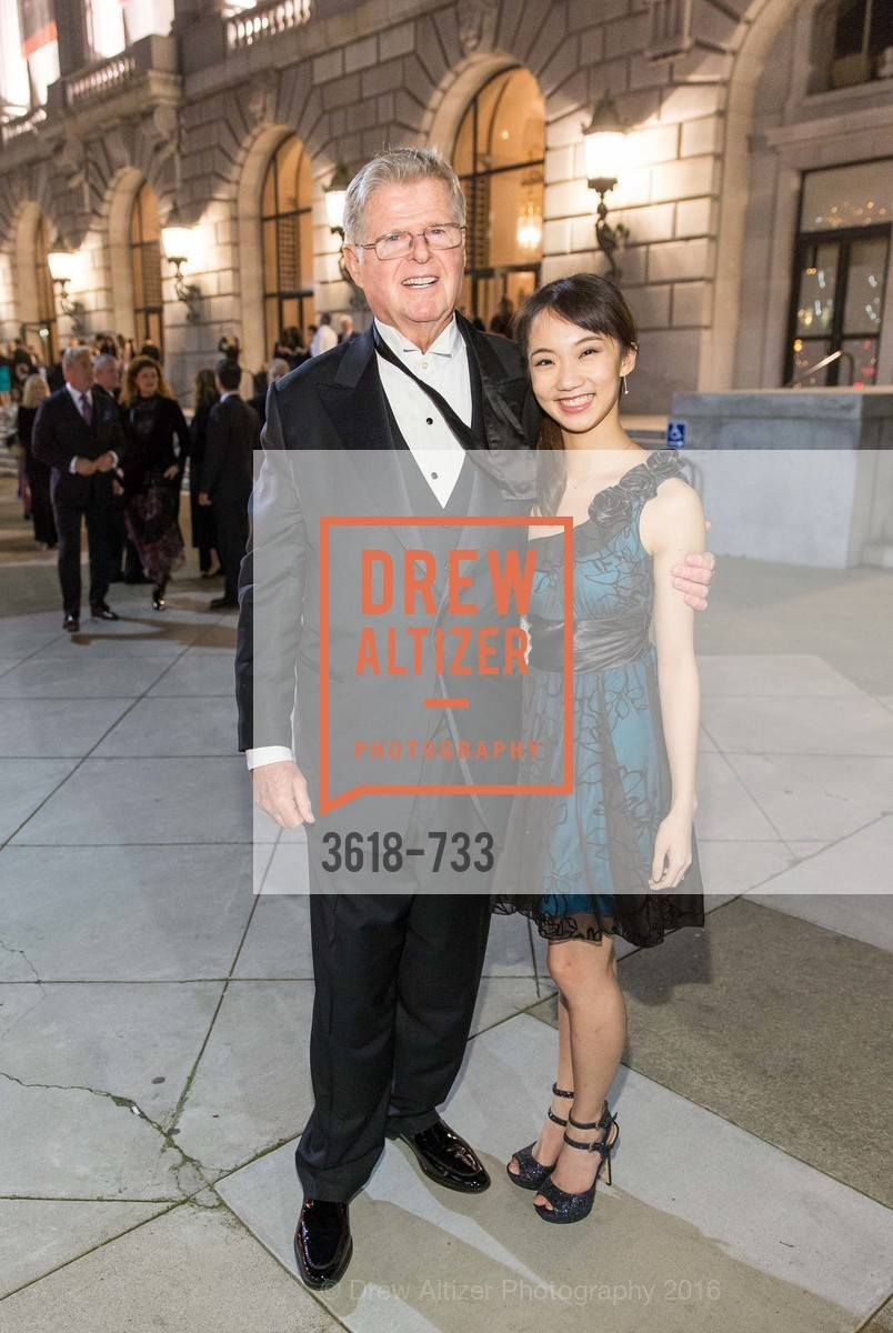 Dick Barker, Chisako Aga, San Francisco Ballet 2016 Opening Night Gala, San Francisco City Hall. 1 Dr Carlton B Goodlett Pl, January 21st, 2016,Drew Altizer, Drew Altizer Photography, full-service agency, private events, San Francisco photographer, photographer california