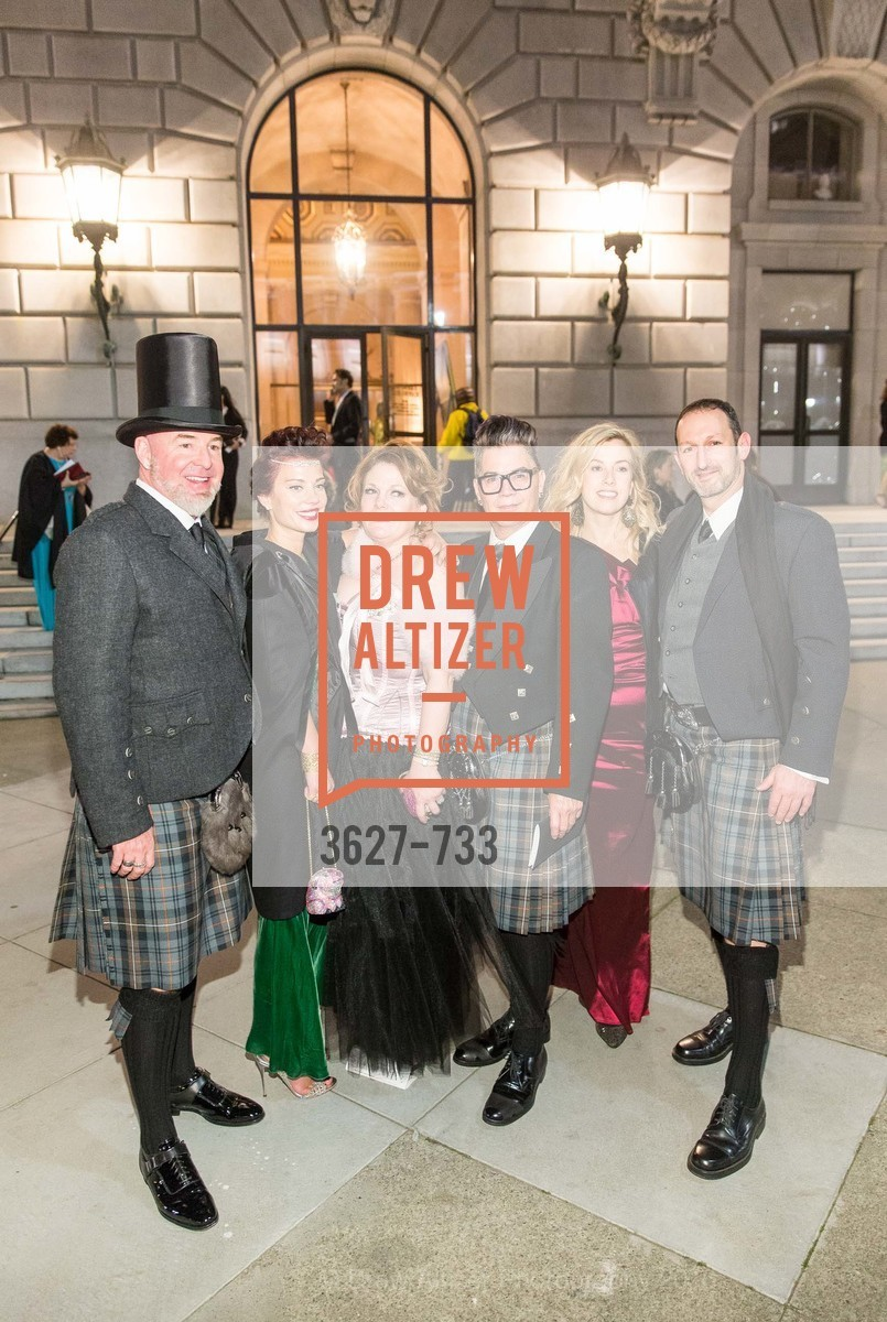 Christopher Bently, Camille Bently, Jennifer Raiser, David Reposar, Joyce Pederson, David Shulman, San Francisco Ballet 2016 Opening Night Gala, San Francisco City Hall. 1 Dr Carlton B Goodlett Pl, January 21st, 2016,Drew Altizer, Drew Altizer Photography, full-service agency, private events, San Francisco photographer, photographer california