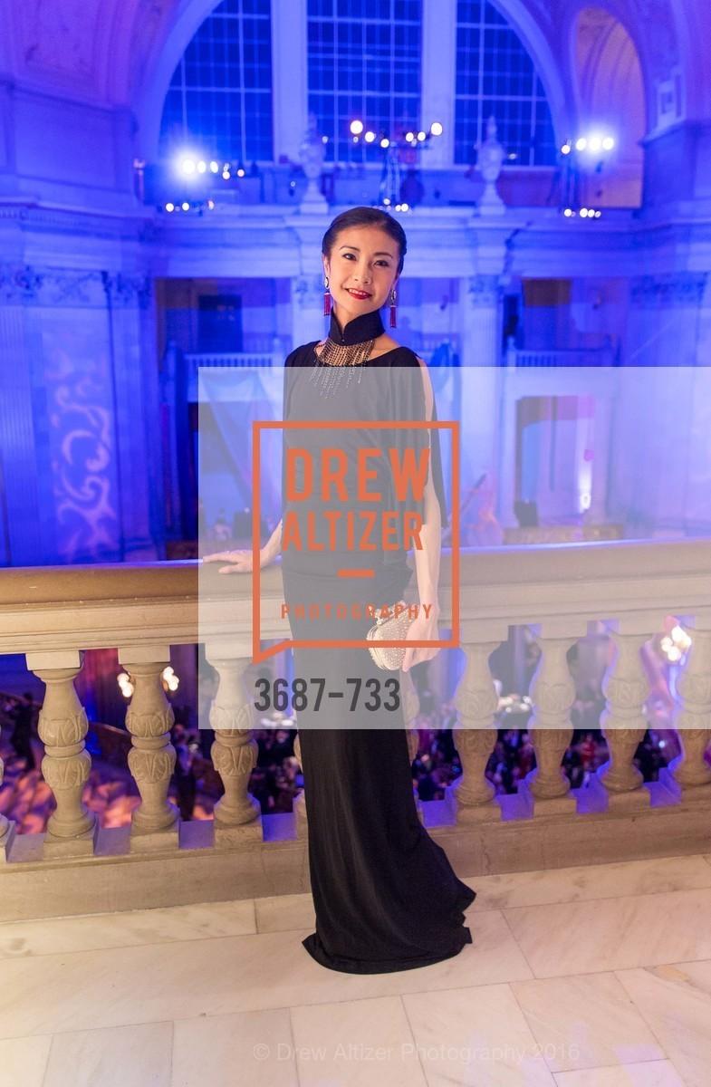 Yuan Yuan Tan, San Francisco Ballet 2016 Opening Night Gala, San Francisco City Hall. 1 Dr Carlton B Goodlett Pl, January 21st, 2016