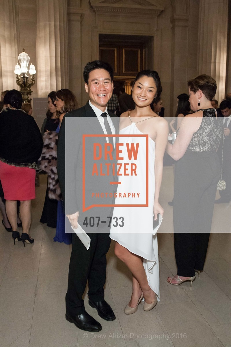 Jerry Chen, Lynne Cheng, San Francisco Ballet 2016 Opening Night Gala, San Francisco City Hall. 1 Dr Carlton B Goodlett Pl, January 21st, 2016,Drew Altizer, Drew Altizer Photography, full-service agency, private events, San Francisco photographer, photographer california