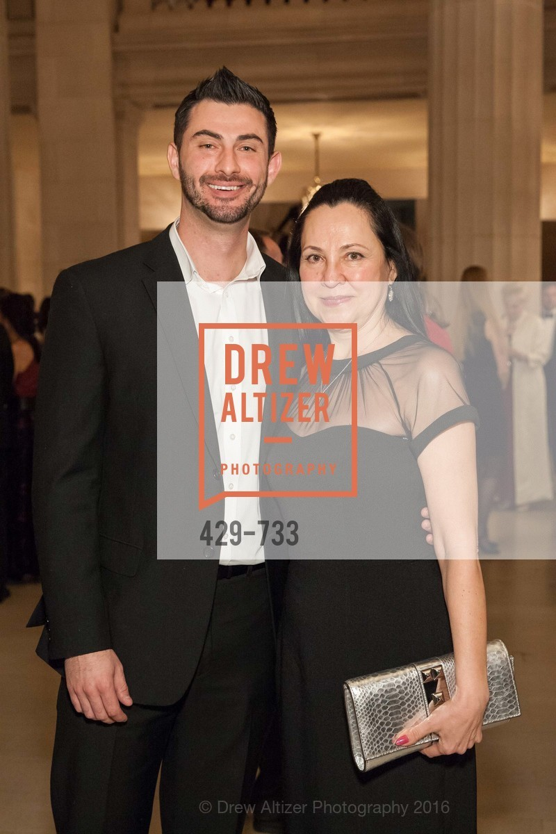 Marat Yarachan, Sophia Zikgimir, San Francisco Ballet 2016 Opening Night Gala, San Francisco City Hall. 1 Dr Carlton B Goodlett Pl, January 21st, 2016,Drew Altizer, Drew Altizer Photography, full-service agency, private events, San Francisco photographer, photographer california
