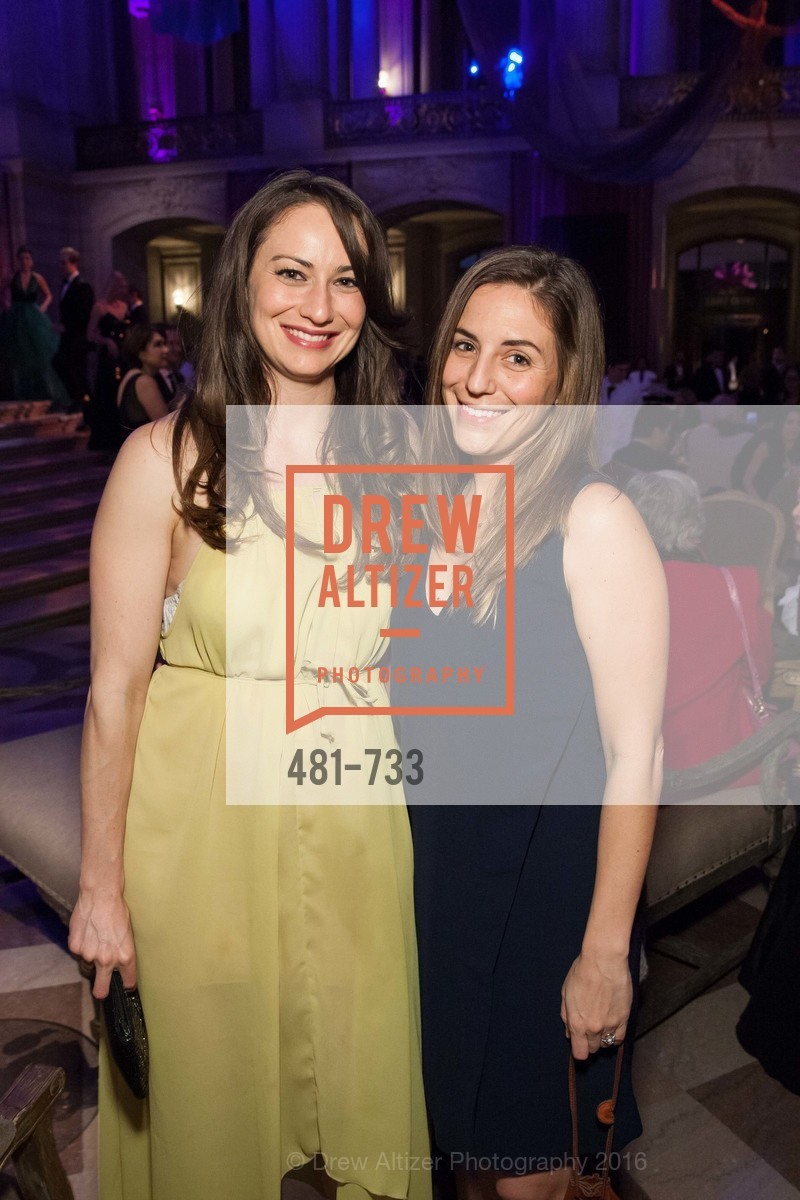 Sherie Silverman, Stephanie Hughes, San Francisco Ballet 2016 Opening Night Gala, San Francisco City Hall. 1 Dr Carlton B Goodlett Pl, January 21st, 2016,Drew Altizer, Drew Altizer Photography, full-service agency, private events, San Francisco photographer, photographer california
