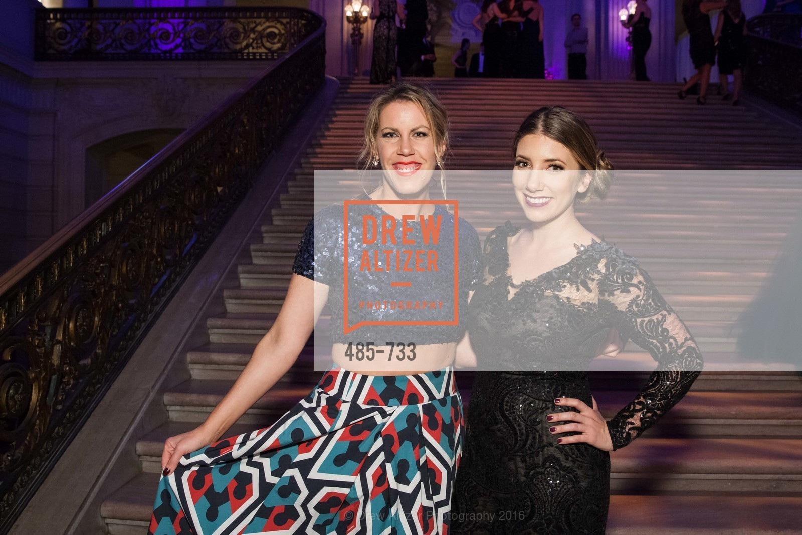 Lauren Groff, Brianna Haag, San Francisco Ballet 2016 Opening Night Gala, San Francisco City Hall. 1 Dr Carlton B Goodlett Pl, January 21st, 2016,Drew Altizer, Drew Altizer Photography, full-service event agency, private events, San Francisco photographer, photographer California