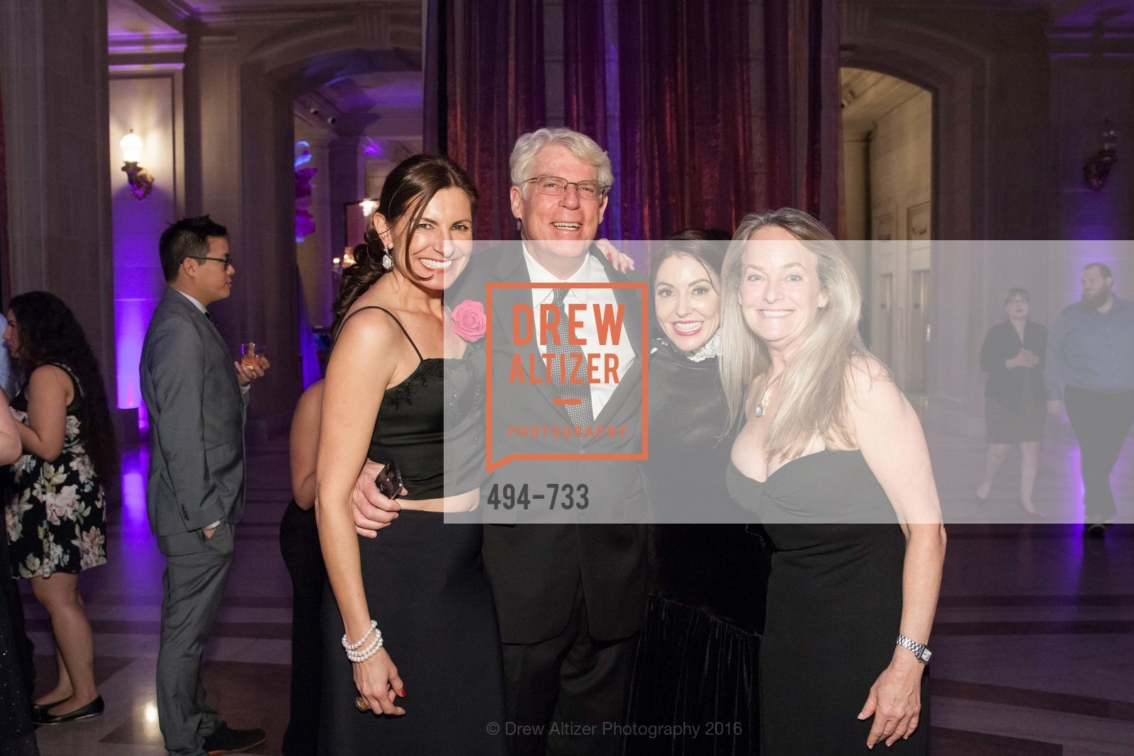 Robert Bradford, Marybeth Lamotte, Shelby Strudwick, San Francisco Ballet 2016 Opening Night Gala, San Francisco City Hall. 1 Dr Carlton B Goodlett Pl, January 21st, 2016,Drew Altizer, Drew Altizer Photography, full-service agency, private events, San Francisco photographer, photographer california