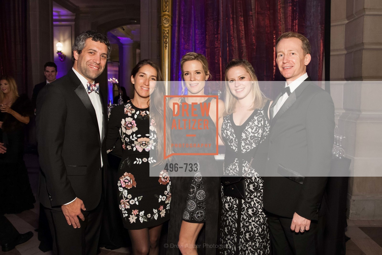 Francisco Tossi, Danielle Daly, Ashley Arnold, Simon Arnold, San Francisco Ballet 2016 Opening Night Gala, San Francisco City Hall. 1 Dr Carlton B Goodlett Pl, January 21st, 2016,Drew Altizer, Drew Altizer Photography, full-service agency, private events, San Francisco photographer, photographer california
