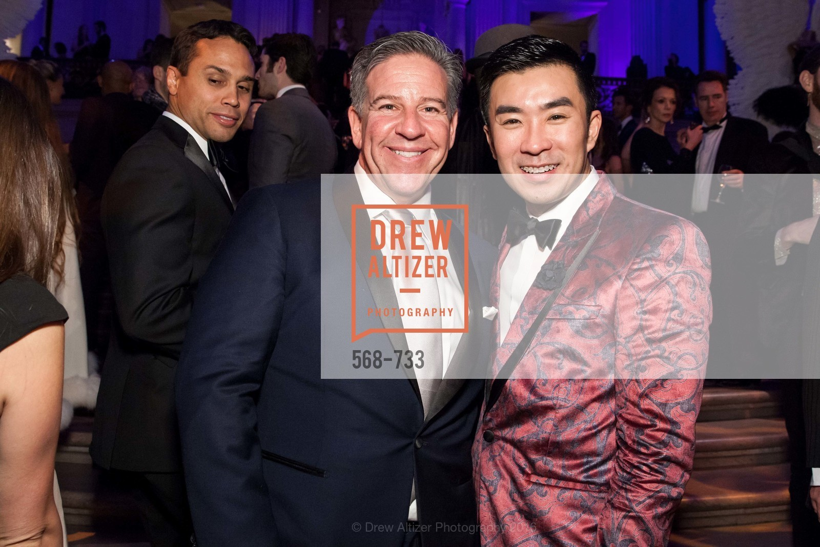 Gregg Lynn, Kai Pang Pan, San Francisco Ballet 2016 Opening Night Gala, San Francisco City Hall. 1 Dr Carlton B Goodlett Pl, January 21st, 2016,Drew Altizer, Drew Altizer Photography, full-service agency, private events, San Francisco photographer, photographer california