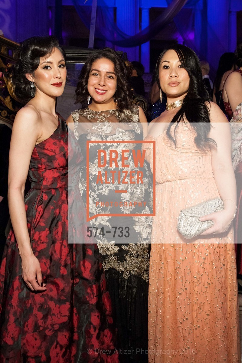 Rocio Flores, Sylvia Valenzuela, Tracey Saelee, San Francisco Ballet 2016 Opening Night Gala, San Francisco City Hall. 1 Dr Carlton B Goodlett Pl, January 21st, 2016,Drew Altizer, Drew Altizer Photography, full-service agency, private events, San Francisco photographer, photographer california