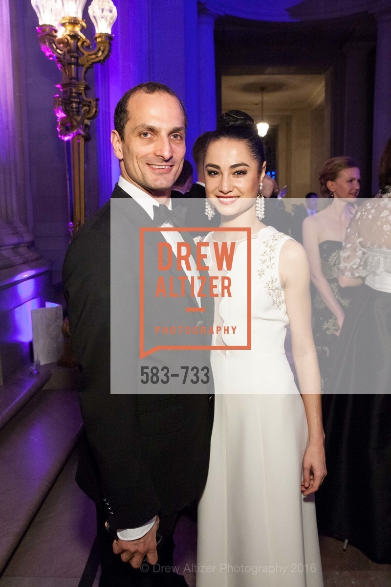 Mathilde Froustey, San Francisco Ballet 2016 Opening Night Gala, San Francisco City Hall. 1 Dr Carlton B Goodlett Pl, January 21st, 2016,Drew Altizer, Drew Altizer Photography, full-service agency, private events, San Francisco photographer, photographer california