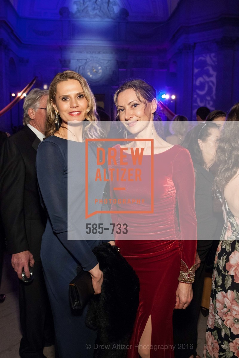 Elena Hamner, Irina Ahollinger, San Francisco Ballet 2016 Opening Night Gala, San Francisco City Hall. 1 Dr Carlton B Goodlett Pl, January 21st, 2016,Drew Altizer, Drew Altizer Photography, full-service agency, private events, San Francisco photographer, photographer california