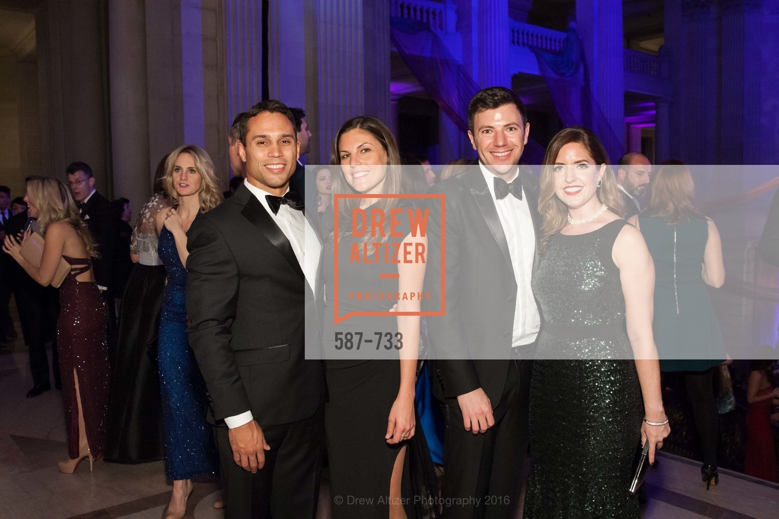Oscar Santiago, Rachel Hall, Isaac Hall, Shawna McDonald, San Francisco Ballet 2016 Opening Night Gala, San Francisco City Hall. 1 Dr Carlton B Goodlett Pl, January 21st, 2016,Drew Altizer, Drew Altizer Photography, full-service agency, private events, San Francisco photographer, photographer california