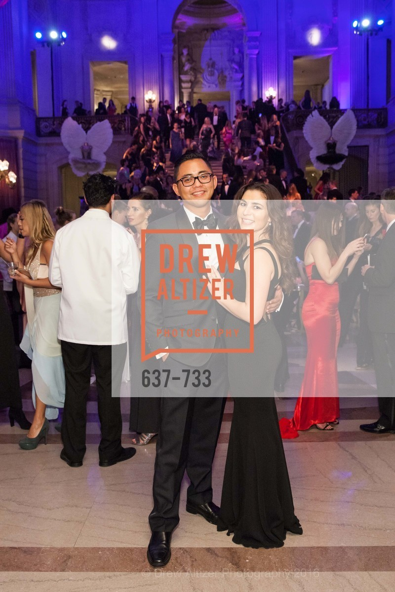 Christian Navarro, Sarah Owens, San Francisco Ballet 2016 Opening Night Gala, San Francisco City Hall. 1 Dr Carlton B Goodlett Pl, January 21st, 2016,Drew Altizer, Drew Altizer Photography, full-service agency, private events, San Francisco photographer, photographer california