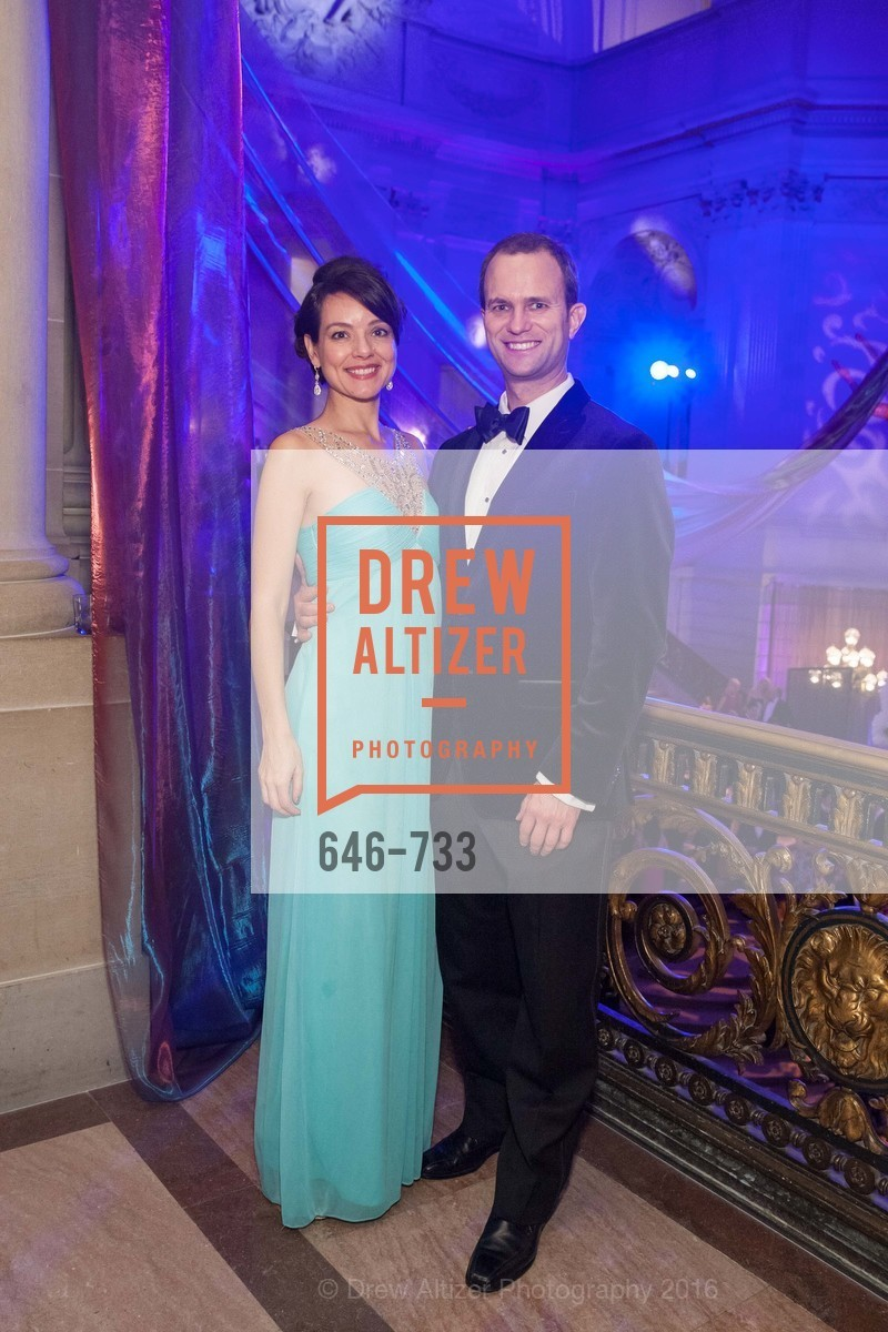 Andrea Rudert, Andy Bussmann, San Francisco Ballet 2016 Opening Night Gala, San Francisco City Hall. 1 Dr Carlton B Goodlett Pl, January 21st, 2016,Drew Altizer, Drew Altizer Photography, full-service agency, private events, San Francisco photographer, photographer california