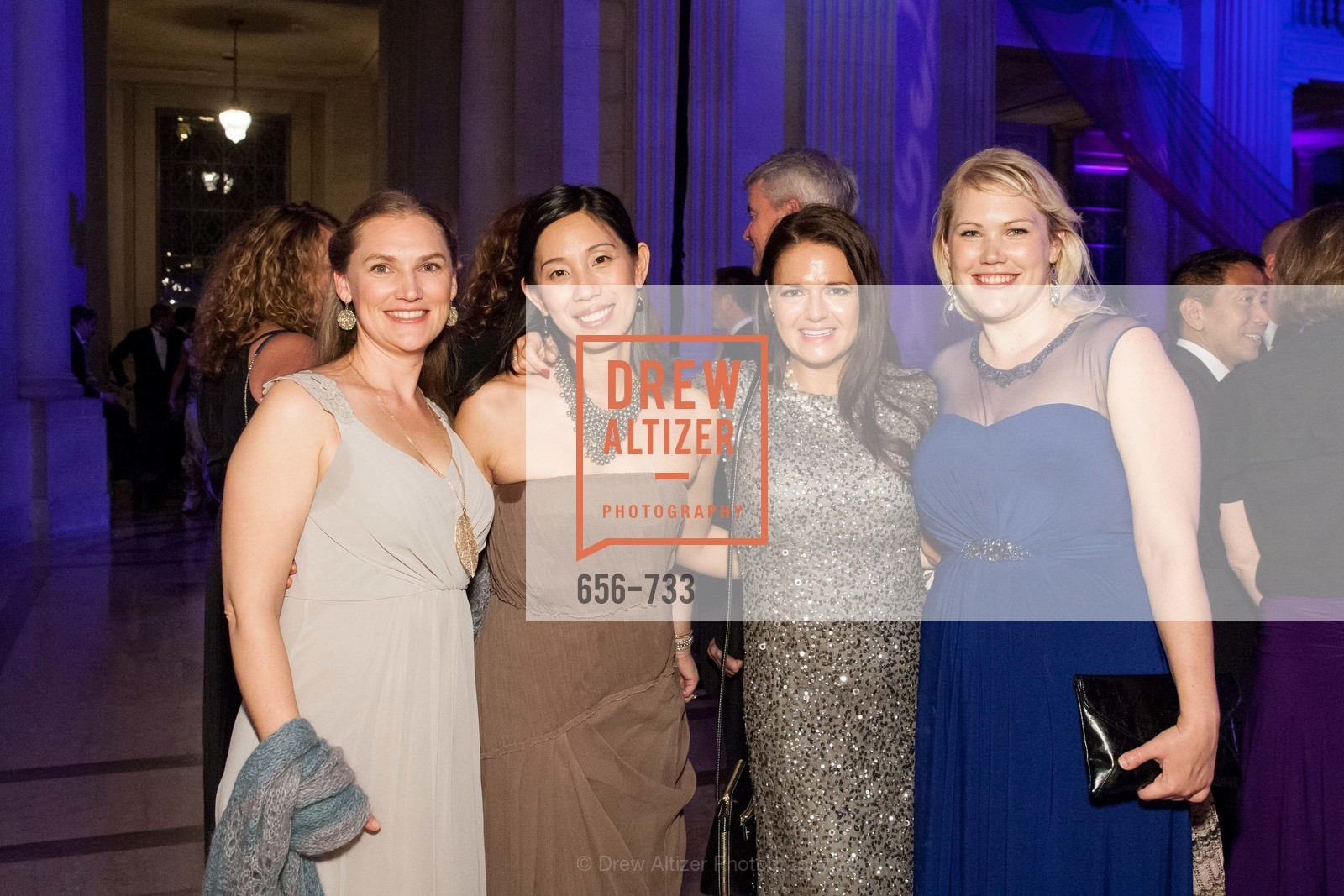 Leah Granger, Julie Estrada, Alysia Helming, Caitlin Young, San Francisco Ballet 2016 Opening Night Gala, San Francisco City Hall. 1 Dr Carlton B Goodlett Pl, January 21st, 2016,Drew Altizer, Drew Altizer Photography, full-service agency, private events, San Francisco photographer, photographer california