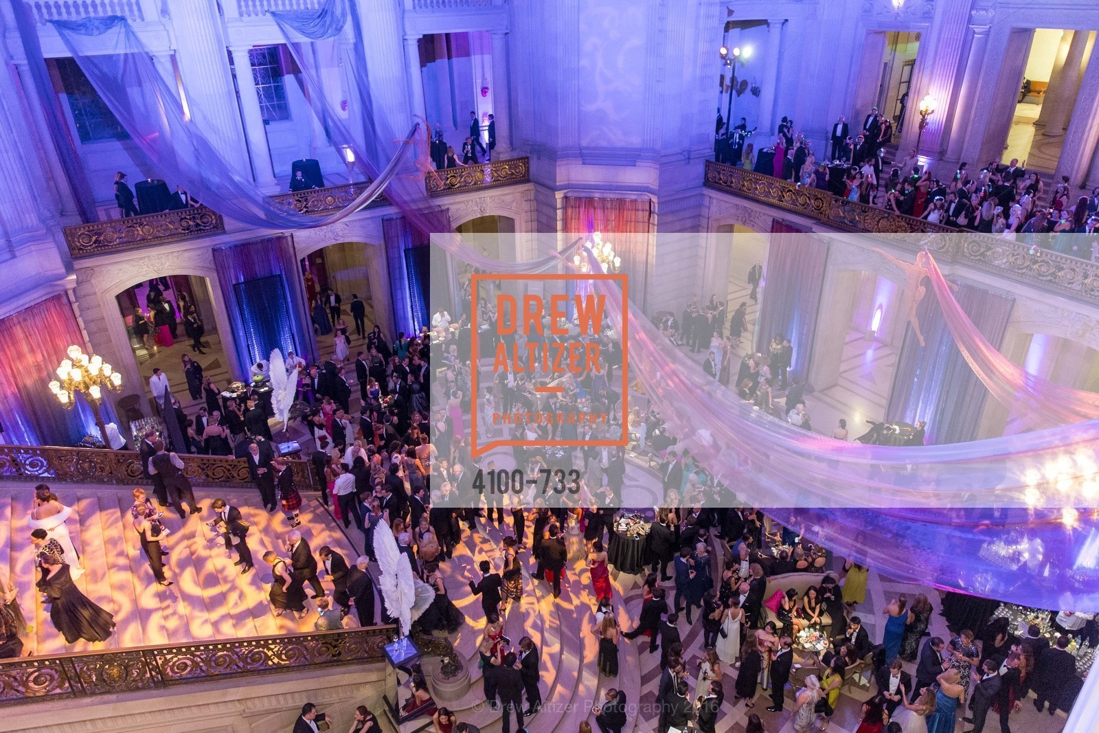 Atmosphere, San Francisco Ballet 2016 Opening Night Gala, San Francisco City Hall. 1 Dr Carlton B Goodlett Pl, January 21st, 2016,Drew Altizer, Drew Altizer Photography, full-service agency, private events, San Francisco photographer, photographer california