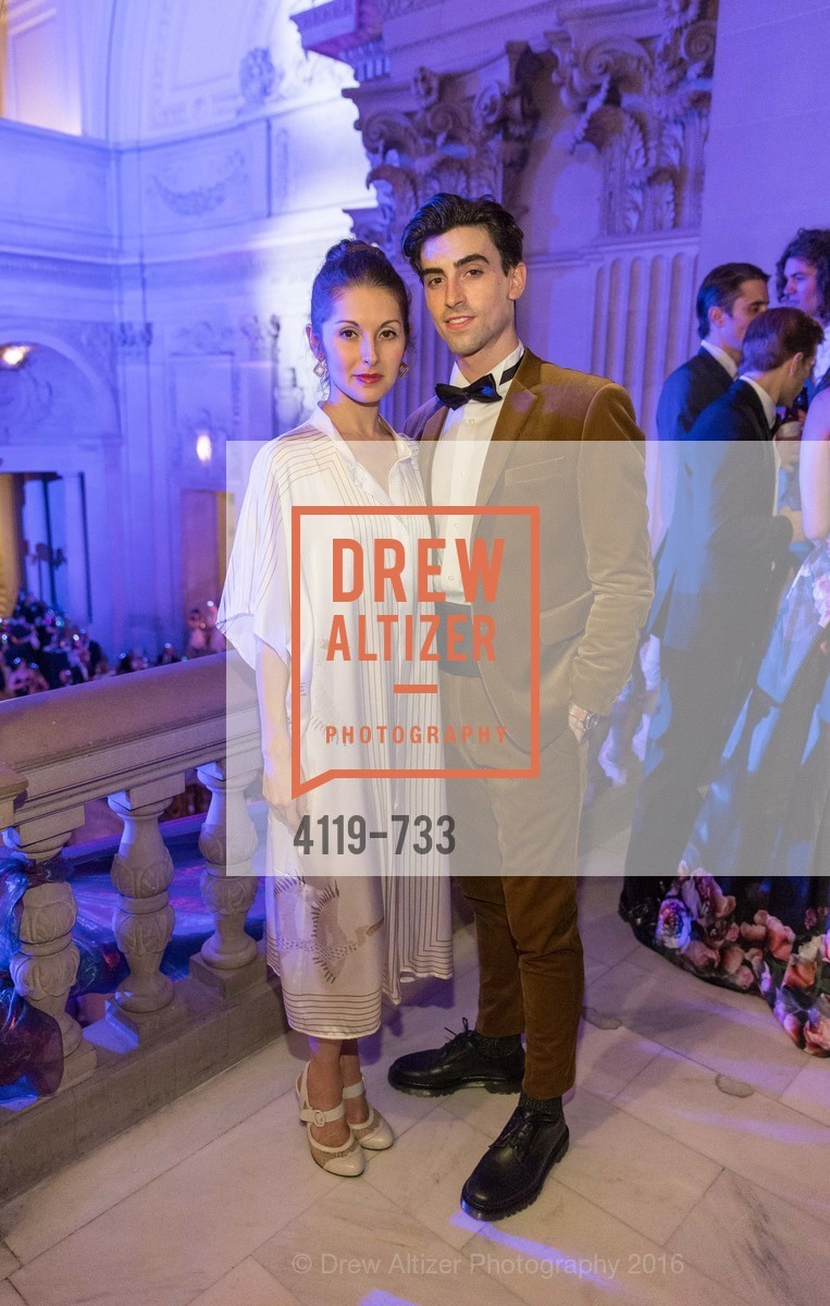 Lauren Stongin, Joseph Walsh, San Francisco Ballet 2016 Opening Night Gala, San Francisco City Hall. 1 Dr Carlton B Goodlett Pl, January 21st, 2016,Drew Altizer, Drew Altizer Photography, full-service agency, private events, San Francisco photographer, photographer california