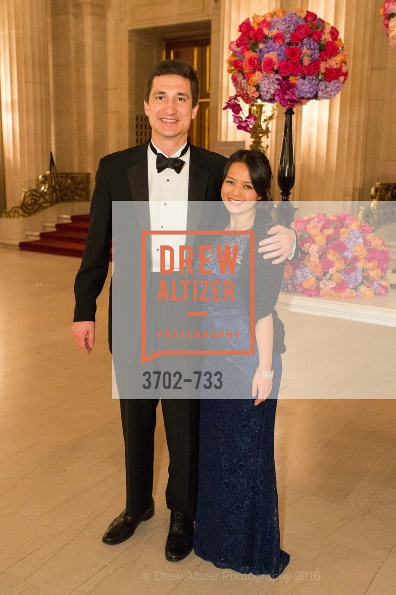 Angela Zhang, Wyatt Smith, San Francisco Ballet 2016 Opening Night Gala, San Francisco City Hall. 1 Dr Carlton B Goodlett Pl, January 21st, 2016,Drew Altizer, Drew Altizer Photography, full-service agency, private events, San Francisco photographer, photographer california