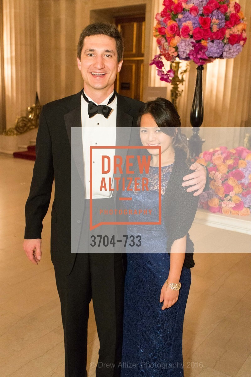 Angela Zhang, Wyatt Smith, San Francisco Ballet 2016 Opening Night Gala, San Francisco City Hall. 1 Dr Carlton B Goodlett Pl, January 21st, 2016,Drew Altizer, Drew Altizer Photography, full-service event agency, private events, San Francisco photographer, photographer California