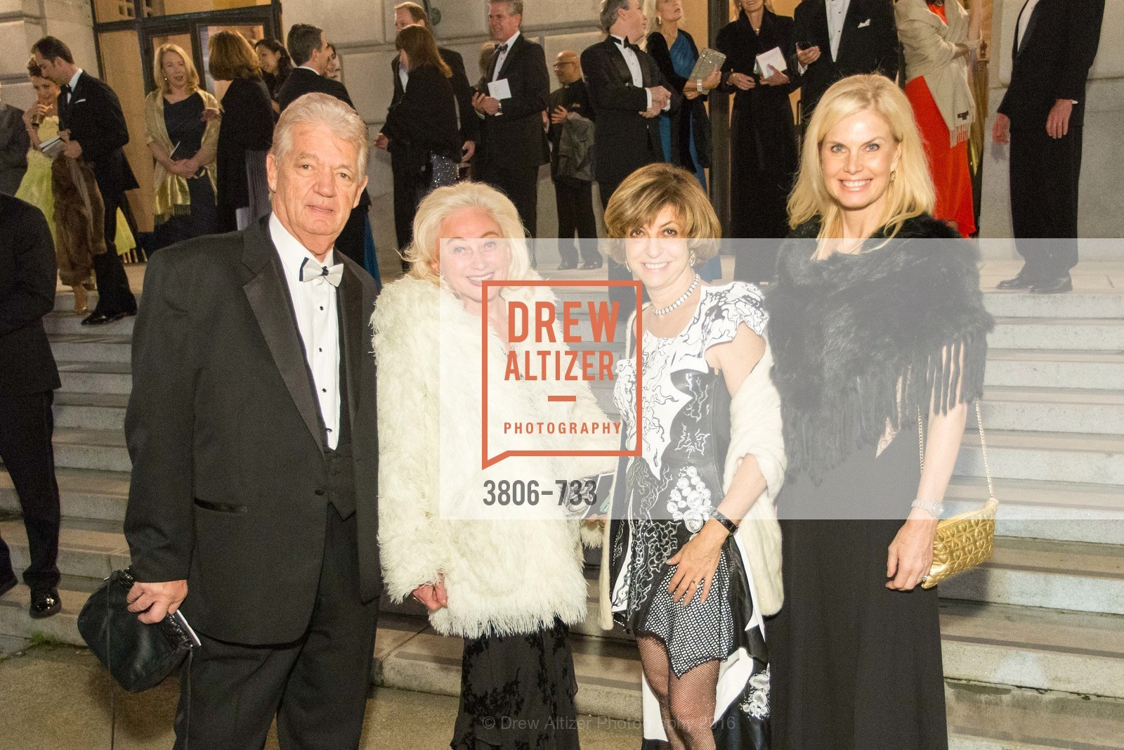 Allan Wayne, Estee Caldwell, Ludmilla Eggleton, Sarah Karis, San Francisco Ballet 2016 Opening Night Gala, San Francisco City Hall. 1 Dr Carlton B Goodlett Pl, January 21st, 2016,Drew Altizer, Drew Altizer Photography, full-service agency, private events, San Francisco photographer, photographer california