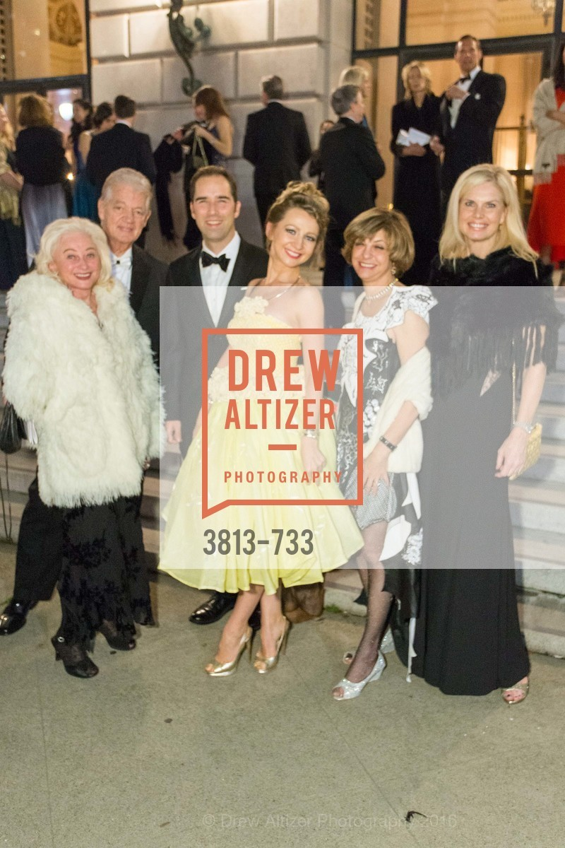 Estee Caldwell, Allan Wayne, Svetlana Jilenko, Paul Wagner, Ludmilla Eggleton, Sarah Karis, San Francisco Ballet 2016 Opening Night Gala, San Francisco City Hall. 1 Dr Carlton B Goodlett Pl, January 21st, 2016,Drew Altizer, Drew Altizer Photography, full-service agency, private events, San Francisco photographer, photographer california