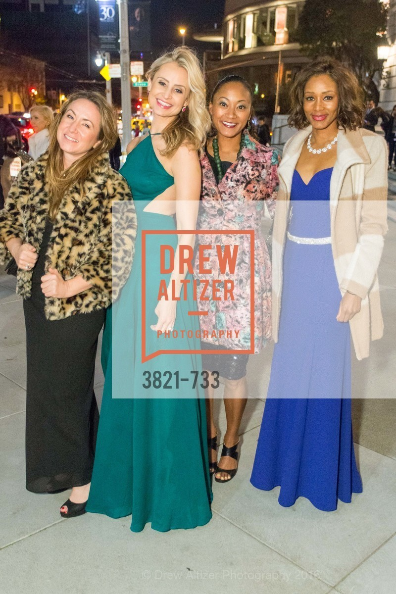 Kristin Herzant, Marissa Wornick, Jessica Reeves, Cashai Anderson, San Francisco Ballet 2016 Opening Night Gala, San Francisco City Hall. 1 Dr Carlton B Goodlett Pl, January 21st, 2016,Drew Altizer, Drew Altizer Photography, full-service agency, private events, San Francisco photographer, photographer california