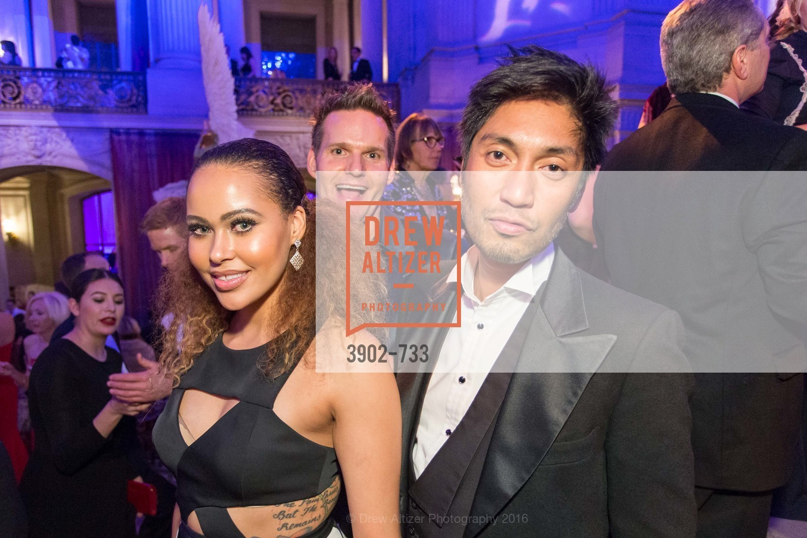 Lillian Jacks, Chris Gaither, Gary James, San Francisco Ballet 2016 Opening Night Gala, San Francisco City Hall. 1 Dr Carlton B Goodlett Pl, January 21st, 2016,Drew Altizer, Drew Altizer Photography, full-service agency, private events, San Francisco photographer, photographer california
