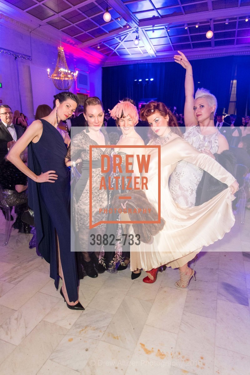 Britt Juleen, Jamielyn Duggan, Jennifer Wallis, Daria Rose, San Francisco Ballet 2016 Opening Night Gala, San Francisco City Hall. 1 Dr Carlton B Goodlett Pl, January 21st, 2016,Drew Altizer, Drew Altizer Photography, full-service agency, private events, San Francisco photographer, photographer california