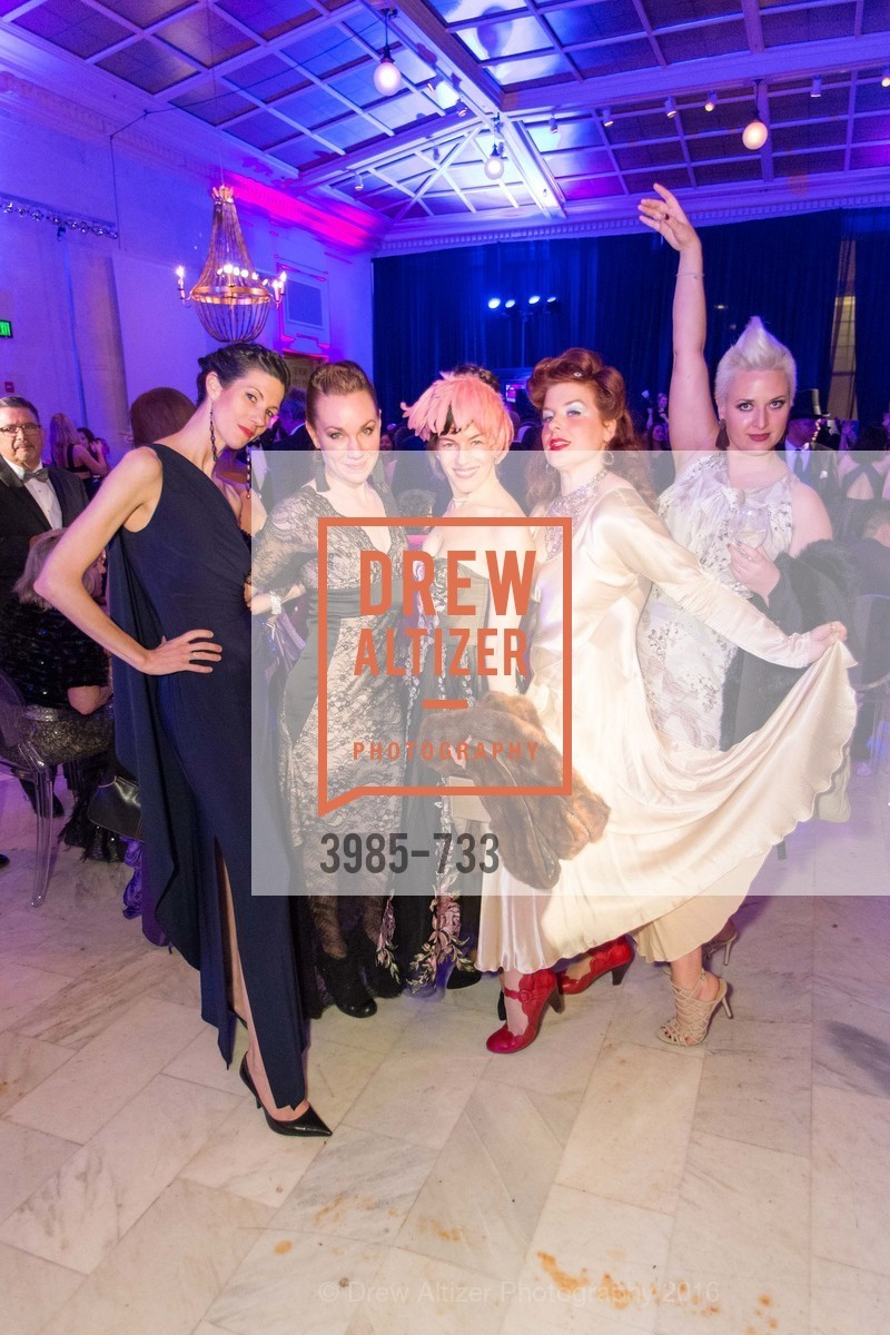 Britt Juleen, Jennifer Wallis, Daria Rose, San Francisco Ballet 2016 Opening Night Gala, San Francisco City Hall. 1 Dr Carlton B Goodlett Pl, January 21st, 2016,Drew Altizer, Drew Altizer Photography, full-service agency, private events, San Francisco photographer, photographer california