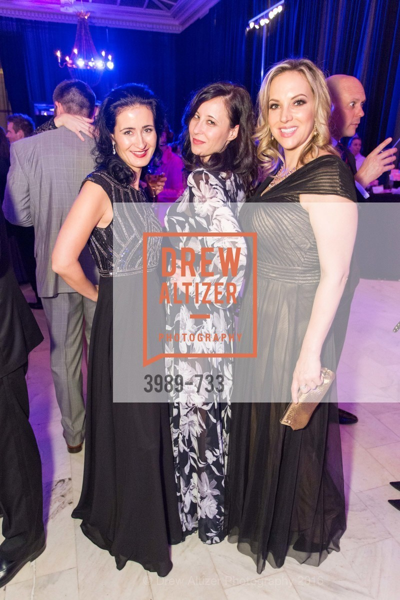 Eva Voskrician, Katalin Janos, Veronika Gold, San Francisco Ballet 2016 Opening Night Gala, San Francisco City Hall. 1 Dr Carlton B Goodlett Pl, January 21st, 2016,Drew Altizer, Drew Altizer Photography, full-service agency, private events, San Francisco photographer, photographer california