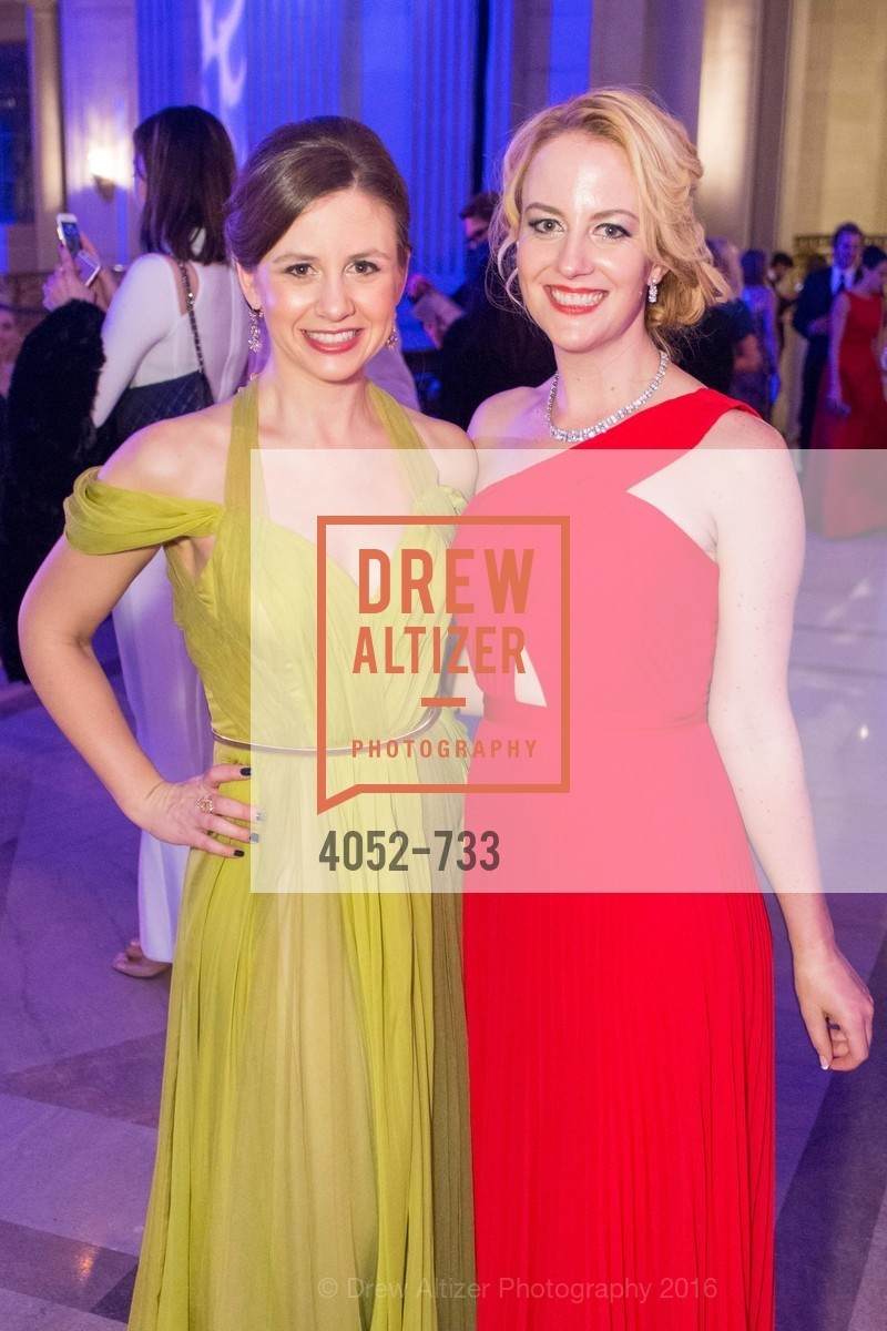 Kristi Symon, Stephanie Sparling, San Francisco Ballet 2016 Opening Night Gala, San Francisco City Hall. 1 Dr Carlton B Goodlett Pl, January 21st, 2016,Drew Altizer, Drew Altizer Photography, full-service agency, private events, San Francisco photographer, photographer california