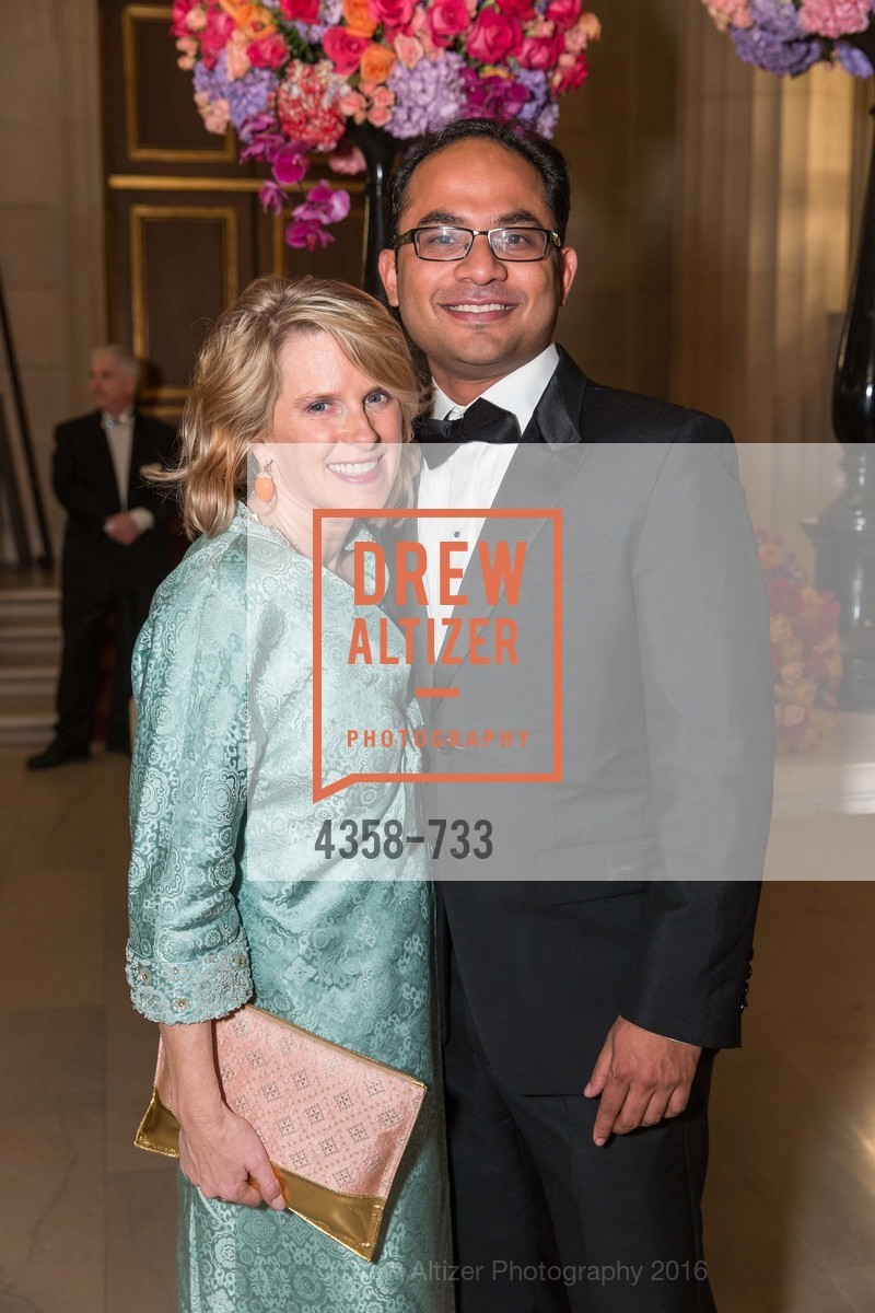 Marie Hurabiell, Mainul Mondal, San Francisco Ballet 2016 Opening Night Gala, San Francisco City Hall. 1 Dr Carlton B Goodlett Pl, January 21st, 2016