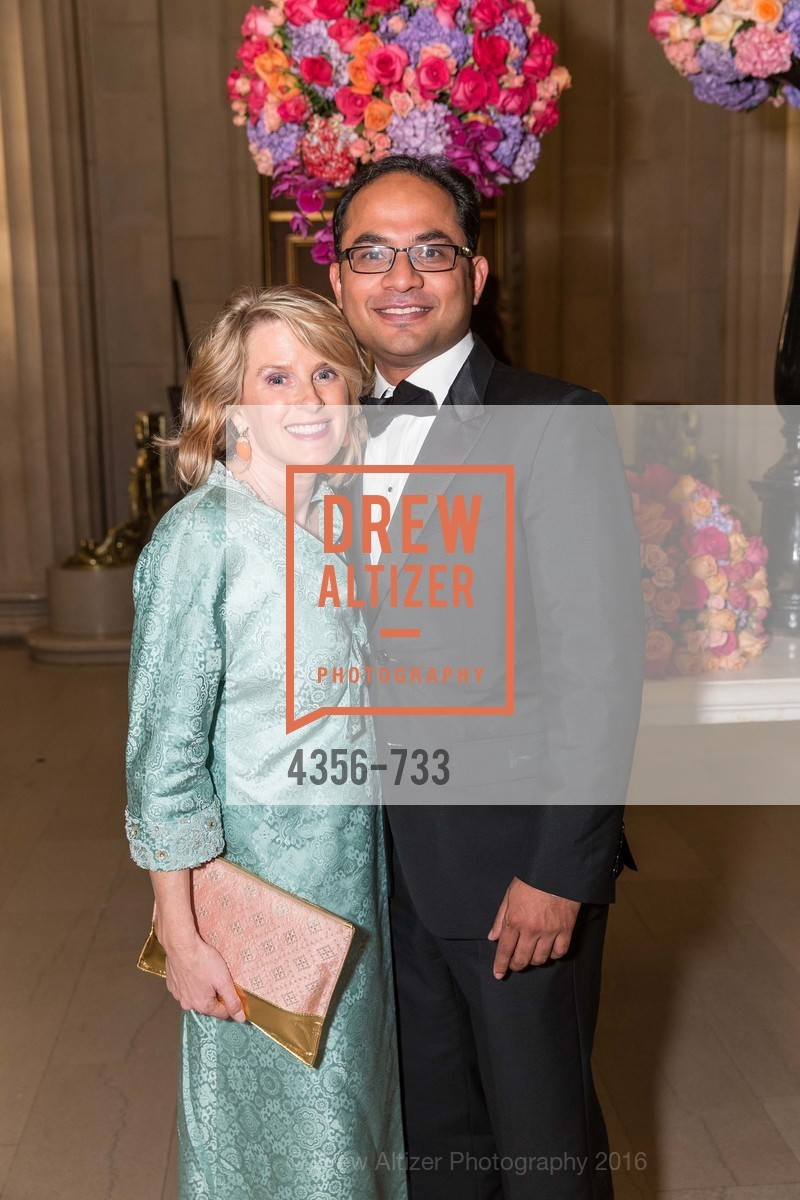 Marie Hurabiell, Mainul Mondal, San Francisco Ballet 2016 Opening Night Gala, San Francisco City Hall. 1 Dr Carlton B Goodlett Pl, January 21st, 2016,Drew Altizer, Drew Altizer Photography, full-service agency, private events, San Francisco photographer, photographer california
