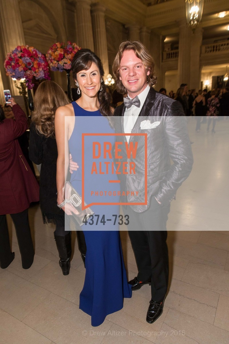 Samantha Duvall, Darren Bechtel, San Francisco Ballet 2016 Opening Night Gala, San Francisco City Hall. 1 Dr Carlton B Goodlett Pl, January 21st, 2016,Drew Altizer, Drew Altizer Photography, full-service agency, private events, San Francisco photographer, photographer california