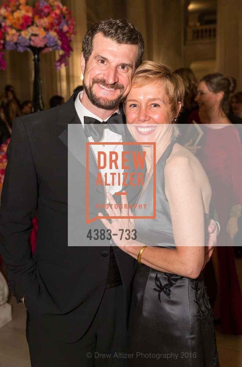 Jason Crethar, Larissa Roesch, San Francisco Ballet 2016 Opening Night Gala, San Francisco City Hall. 1 Dr Carlton B Goodlett Pl, January 21st, 2016,Drew Altizer, Drew Altizer Photography, full-service agency, private events, San Francisco photographer, photographer california