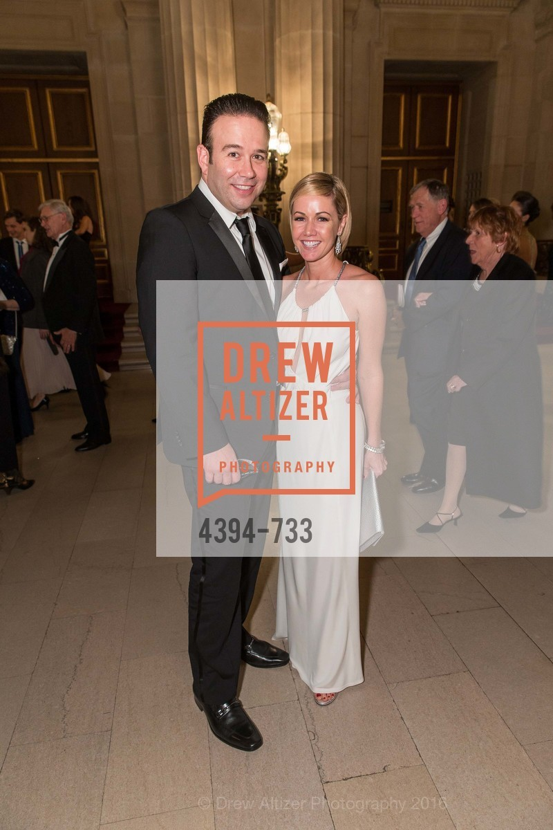 Jonathan Santelli, Christina Santelli, San Francisco Ballet 2016 Opening Night Gala, San Francisco City Hall. 1 Dr Carlton B Goodlett Pl, January 21st, 2016,Drew Altizer, Drew Altizer Photography, full-service event agency, private events, San Francisco photographer, photographer California