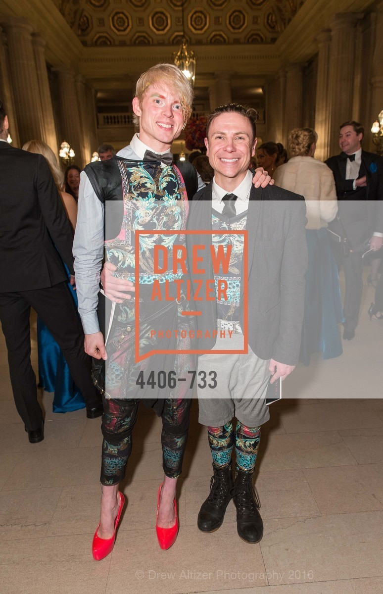 Christian Squires, Robert Dekkers, San Francisco Ballet 2016 Opening Night Gala, San Francisco City Hall. 1 Dr Carlton B Goodlett Pl, January 21st, 2016,Drew Altizer, Drew Altizer Photography, full-service agency, private events, San Francisco photographer, photographer california