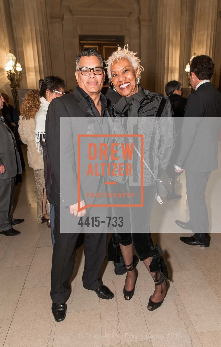 Rich Hanif, Elba McIntosh, San Francisco Ballet 2016 Opening Night Gala, San Francisco City Hall. 1 Dr Carlton B Goodlett Pl, January 21st, 2016,Drew Altizer, Drew Altizer Photography, full-service agency, private events, San Francisco photographer, photographer california