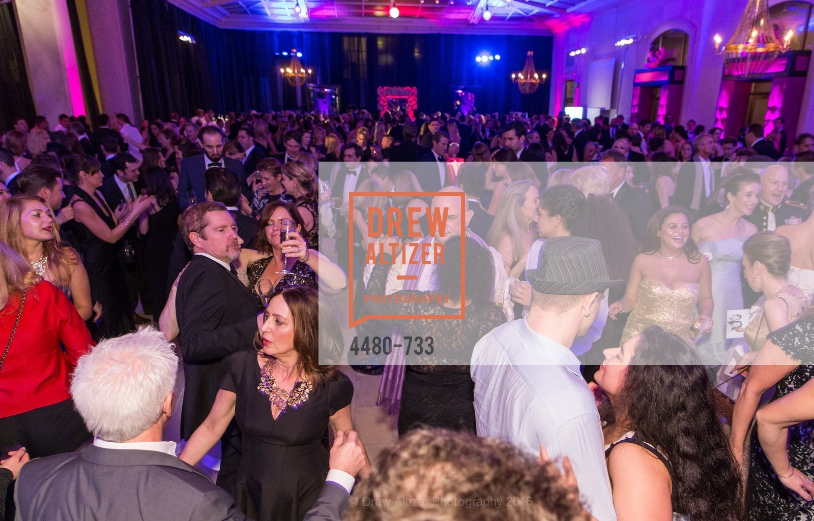 Dance Floor, San Francisco Ballet 2016 Opening Night Gala, San Francisco City Hall. 1 Dr Carlton B Goodlett Pl, January 21st, 2016,Drew Altizer, Drew Altizer Photography, full-service event agency, private events, San Francisco photographer, photographer California