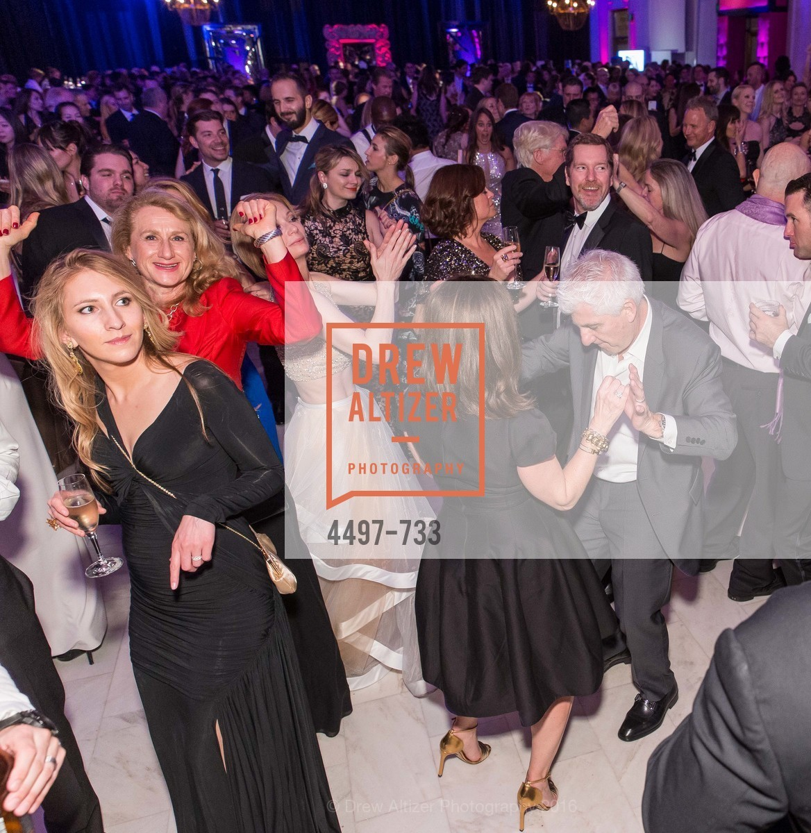 Dance Floor, San Francisco Ballet 2016 Opening Night Gala, San Francisco City Hall. 1 Dr Carlton B Goodlett Pl, January 21st, 2016,Drew Altizer, Drew Altizer Photography, full-service agency, private events, San Francisco photographer, photographer california