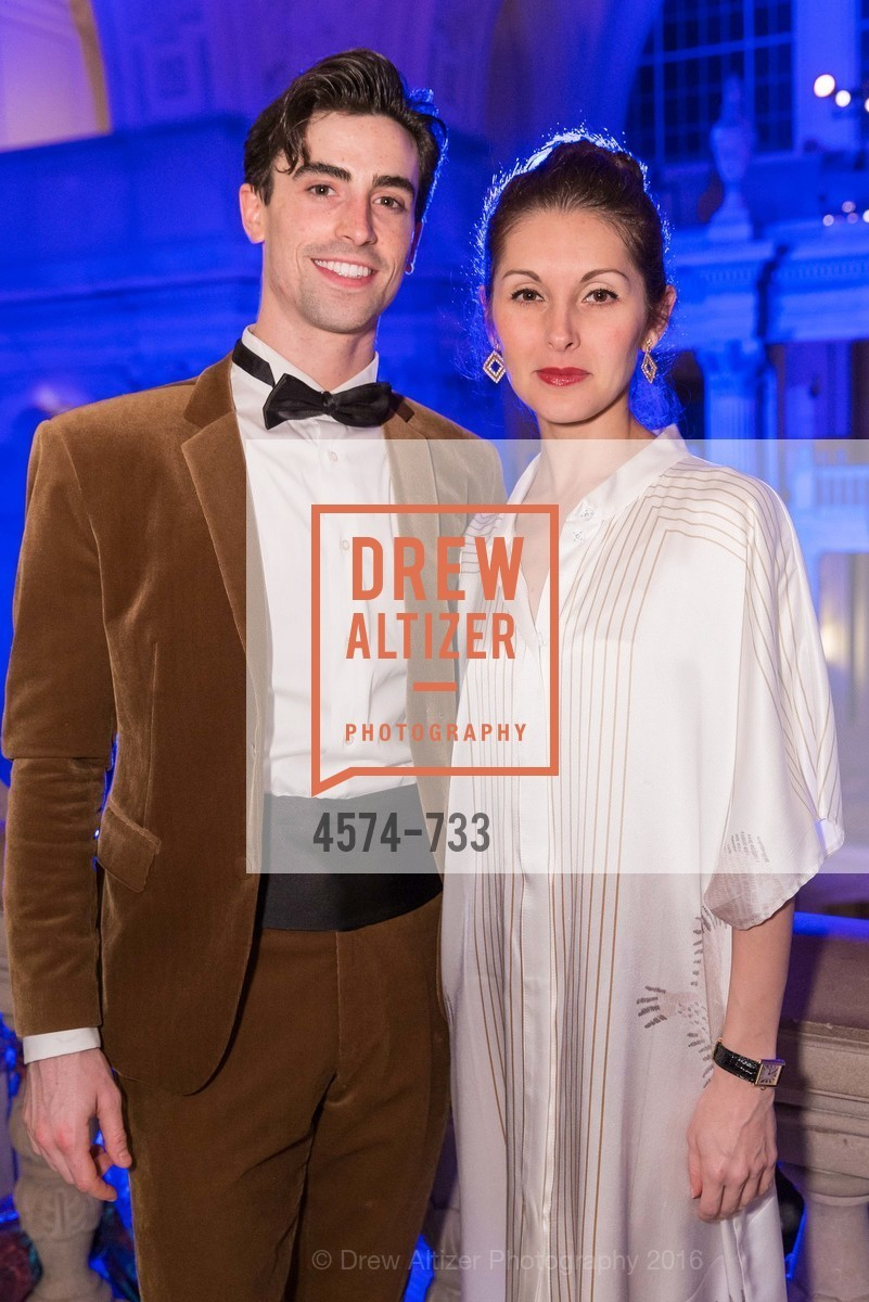 Joseph Walsh, Lauren Strongin, San Francisco Ballet 2016 Opening Night Gala, San Francisco City Hall. 1 Dr Carlton B Goodlett Pl, January 21st, 2016,Drew Altizer, Drew Altizer Photography, full-service event agency, private events, San Francisco photographer, photographer California