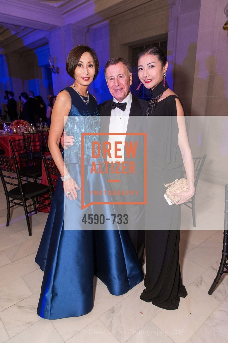 Yurie Pascarella, Carl Pascarella, Yuan Yuan Tan, San Francisco Ballet 2016 Opening Night Gala, San Francisco City Hall. 1 Dr Carlton B Goodlett Pl, January 21st, 2016,Drew Altizer, Drew Altizer Photography, full-service event agency, private events, San Francisco photographer, photographer California