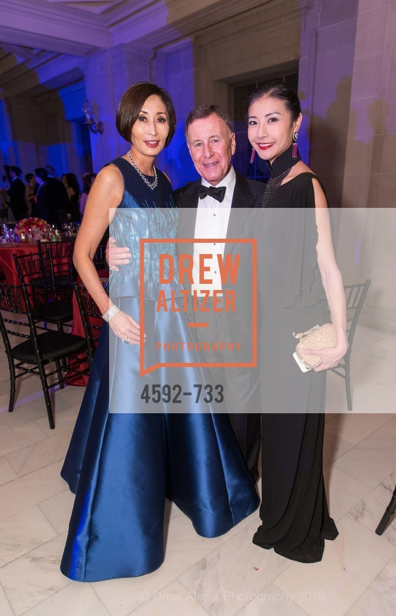 Yurie Pascarella, Carl Pascarella, Yuan Yuan Tan, San Francisco Ballet 2016 Opening Night Gala, San Francisco City Hall. 1 Dr Carlton B Goodlett Pl, January 21st, 2016,Drew Altizer, Drew Altizer Photography, full-service agency, private events, San Francisco photographer, photographer california