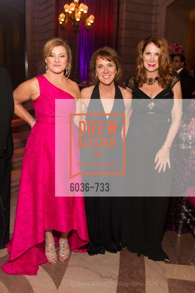 Rene Rodman, Lee Gregory, Patricia Ferrin Loucks, San Francisco Ballet 2016 Opening Night Gala, San Francisco City Hall. 1 Dr Carlton B Goodlett Pl, January 21st, 2016,Drew Altizer, Drew Altizer Photography, full-service agency, private events, San Francisco photographer, photographer california