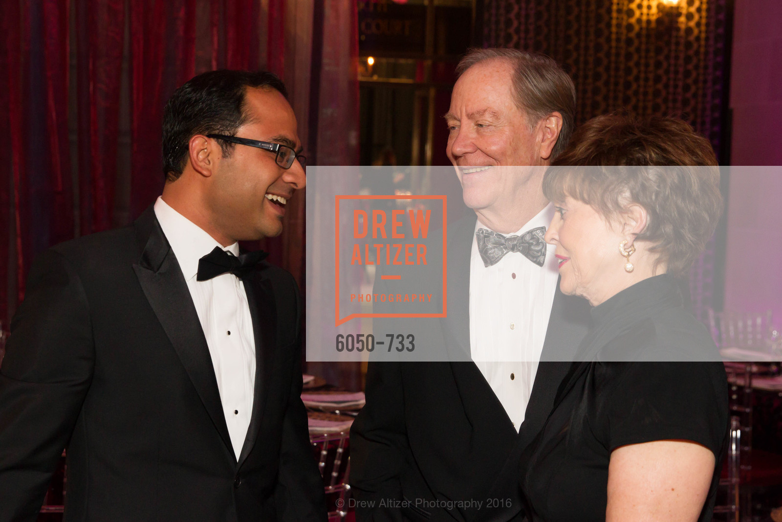 Mainul Mondal, Charlie Thornton, Suzanne Thornton, San Francisco Ballet 2016 Opening Night Gala, San Francisco City Hall. 1 Dr Carlton B Goodlett Pl, January 21st, 2016,Drew Altizer, Drew Altizer Photography, full-service agency, private events, San Francisco photographer, photographer california