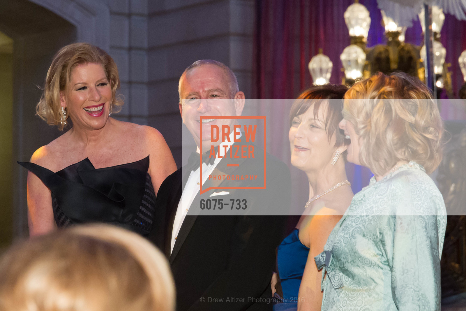 Jennifer Brandenburg, Glenn McCoy, Debra Bernard, San Francisco Ballet 2016 Opening Night Gala, San Francisco City Hall. 1 Dr Carlton B Goodlett Pl, January 21st, 2016,Drew Altizer, Drew Altizer Photography, full-service agency, private events, San Francisco photographer, photographer california