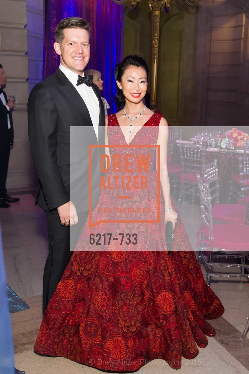 Roelof Botha, Huife Chan, San Francisco Ballet 2016 Opening Night Gala, San Francisco City Hall. 1 Dr Carlton B Goodlett Pl, January 21st, 2016,Drew Altizer, Drew Altizer Photography, full-service agency, private events, San Francisco photographer, photographer california