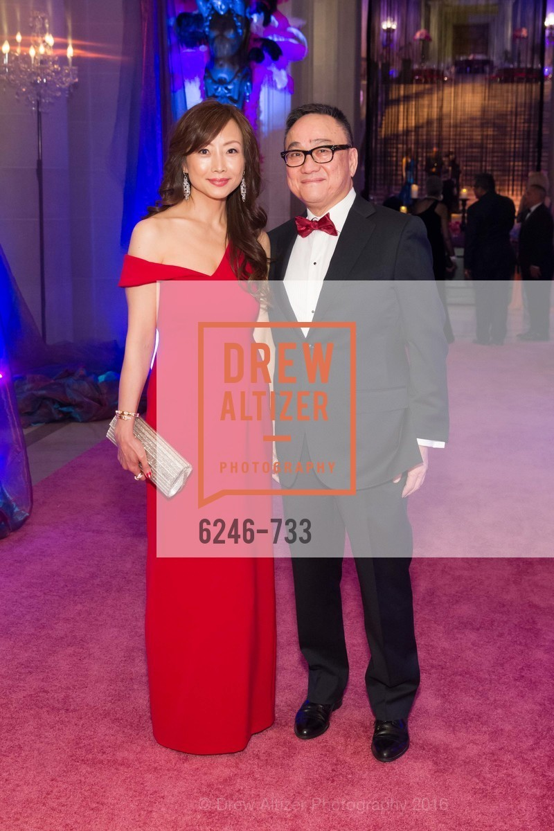 Janet Wong, Francis Wong, San Francisco Ballet 2016 Opening Night Gala, San Francisco City Hall. 1 Dr Carlton B Goodlett Pl, January 21st, 2016,Drew Altizer, Drew Altizer Photography, full-service agency, private events, San Francisco photographer, photographer california