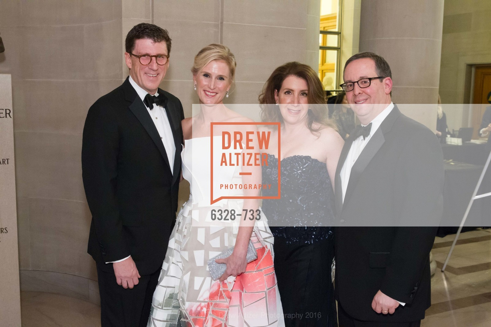 Michael Mauze, Alison Mauze, Julie Singer, Lowell Singer, San Francisco Ballet 2016 Opening Night Gala, San Francisco City Hall. 1 Dr Carlton B Goodlett Pl, January 21st, 2016,Drew Altizer, Drew Altizer Photography, full-service event agency, private events, San Francisco photographer, photographer California