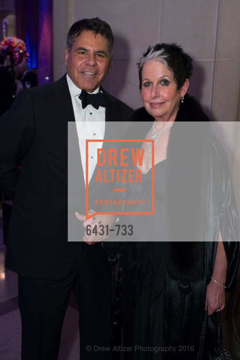 Gary Garabedian, Karen Kubin, San Francisco Ballet 2016 Opening Night Gala, San Francisco City Hall. 1 Dr Carlton B Goodlett Pl, January 21st, 2016,Drew Altizer, Drew Altizer Photography, full-service agency, private events, San Francisco photographer, photographer california